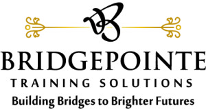 senior living communities BRIDGEPOINTE TRAINING LOGO